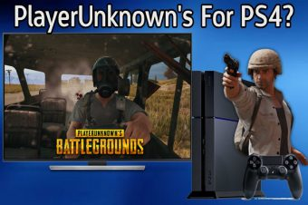 PlayerUnknown's Battlegrounds (PUBG) come to PS4