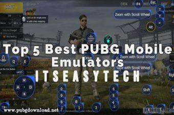 Best Emulator For PUBG Mobile on PC