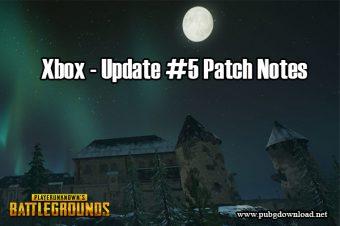 PUBG Update Xbox One