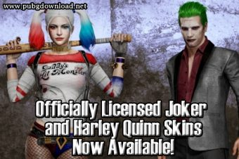 Officially Licensed Joker and Harley Quinn Skins Now Available!