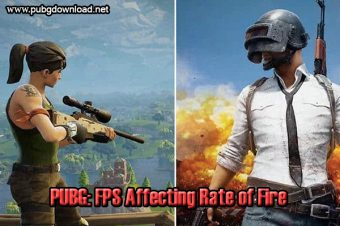 PUBG: FPS Affecting Rate of Fire