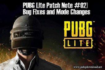 PUBG Lite Patch Note #02