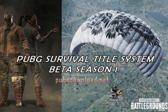 PUBG Survival Beta Season 1
