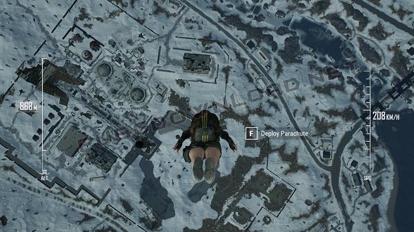 Parachuting UI Improvements