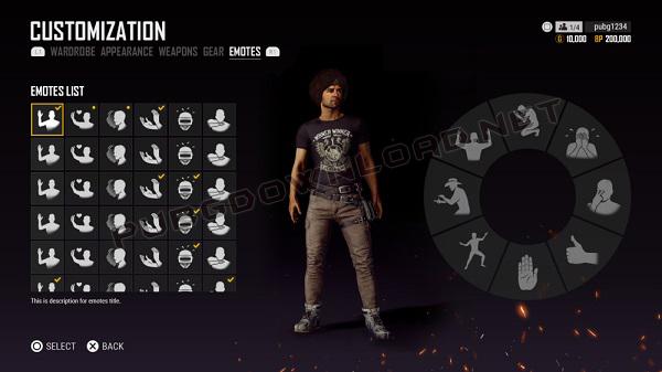 Redesigned The Emotes Customization UI