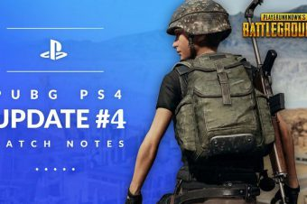 PUBG PS4 update# 4 Patch notes
