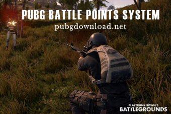 PUBG Battle Points System