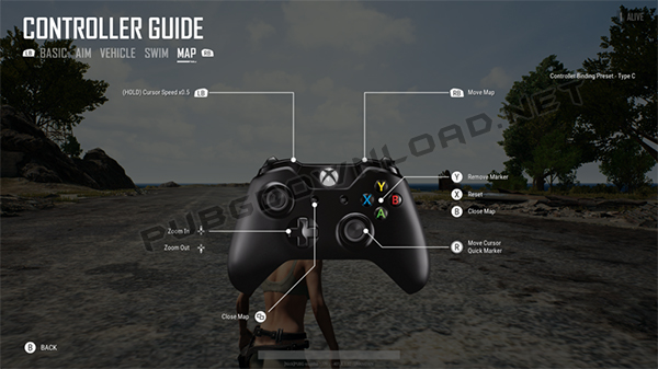 Type C for PUBG PS4