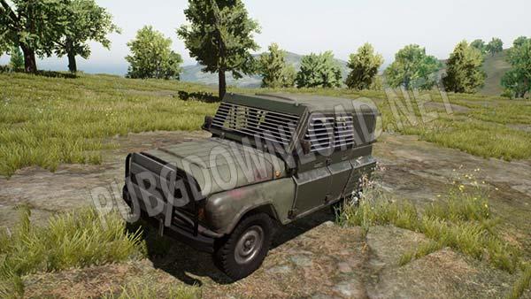 Armored UAZ