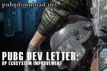 PUBG Dev Letter: BP Ecosystem Improvement
