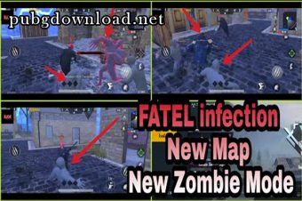 Zombie Mode: Fatal Infection In PUBG Mobile 0.14.0