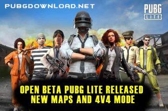 Open Beta PUBG Lite Released New Maps