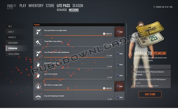 All new MISSIONS