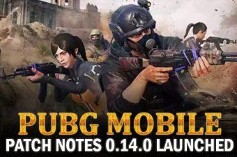 PUBG Mobile Patch Notes 0.14.0
