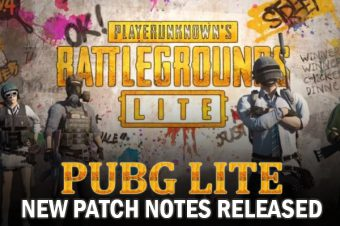 PUBG Lite New Patch Notes Released