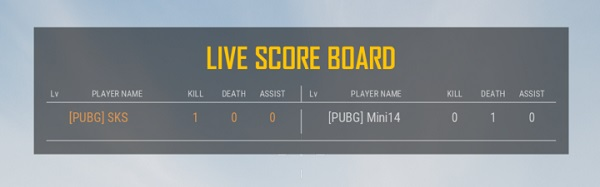 Epic Updates for PUBG 4vs4 match