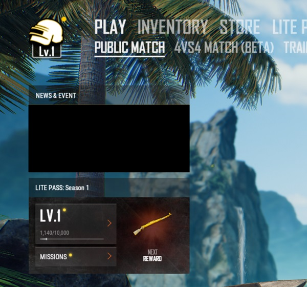 new Account Leveling System