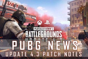 PUBG PC Update 4.3 Full Patch Notes: