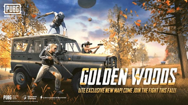 Golden Woods is Exclusively Launched on PUBG Mobile Lite