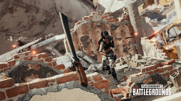 Melee Weapons Are Now Throwable in PUBG Season 5
