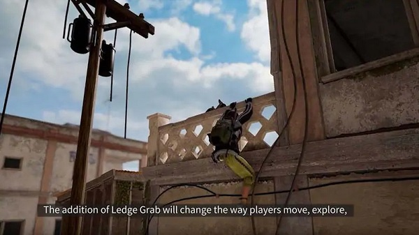 Ledge Grab and Sliding Effect in PUBG Mobile