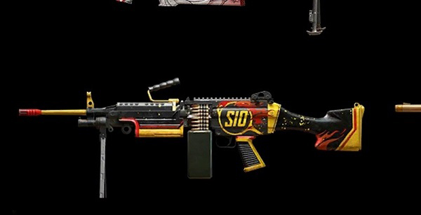 Skin for M249