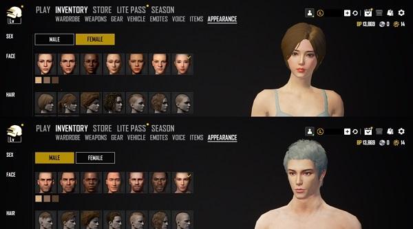 Extra faces after PUBG Lite Patch Note Dec