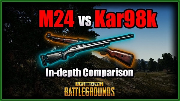 PUBG PC Update #31: Kar98 Weapon Compared to M24