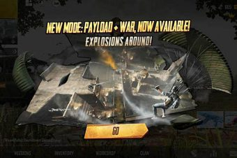 PUBG Mobile Officially Updates The New Game Mode: The Payload X War Mode