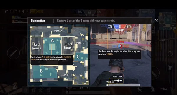Domination: Town is a new map for PUBG Mobile 2020