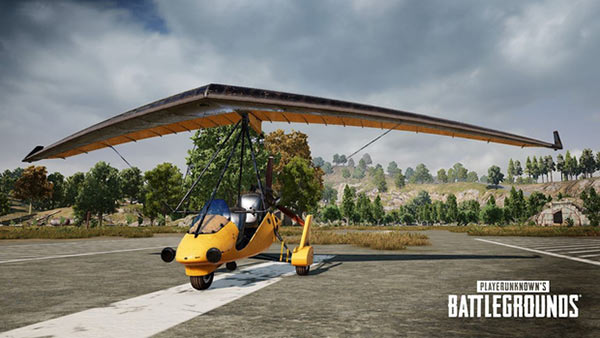 Mechanism of operation of Glider in PUBG
