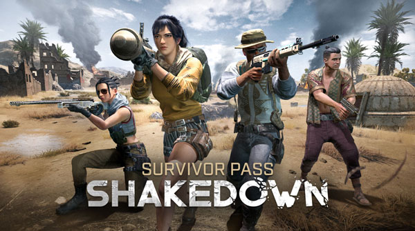 PUBG Survivor Pass: Shakedown