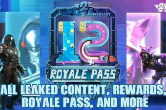 PUBG Mobile Season 12 All Leaked Content, Rewards, Royale Pass, And More