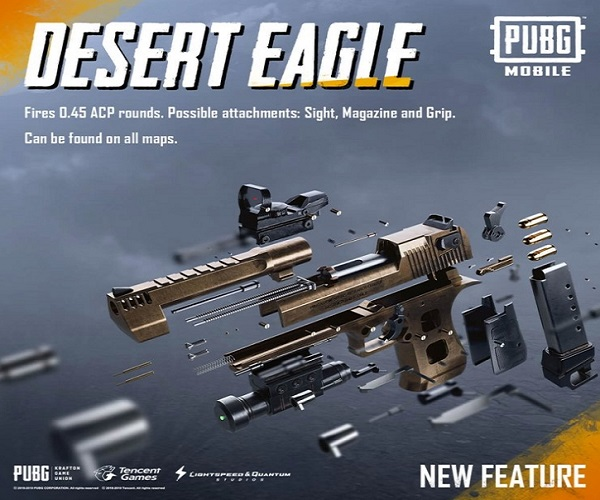 How to use Desert Eagle smartly in PUBG Mobile