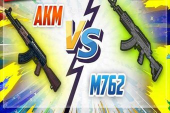 PUBG Mobile Weapons: Detailed Comparison Between AKM And M762