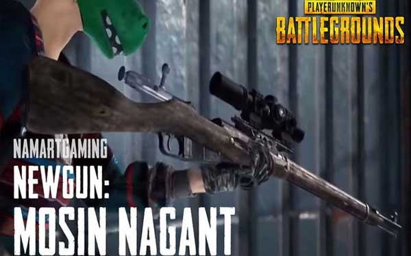 A Bolt Action Rifle Gun: Mosin Nagant