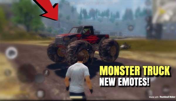 PUBG Mobile 0.19.0 will drop Monster Truck on Fourex the map