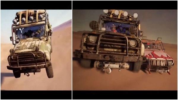Skins for UAZ and Dacia in PUBG Mobile Season 14