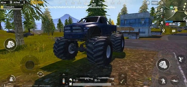 Players can travel to areas on PUBG Mobile Livik map more quickly when driving a Monster Truck